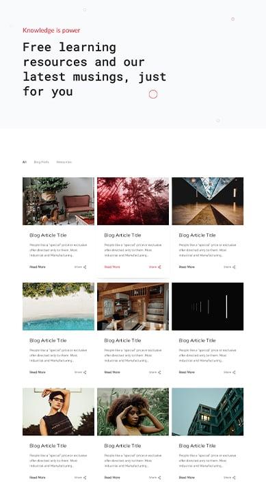Blog UI Blue 389x729