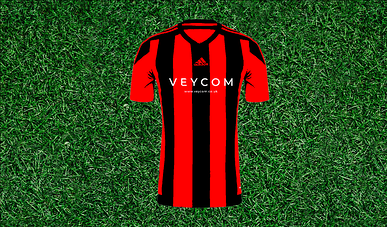 Red football pitch background