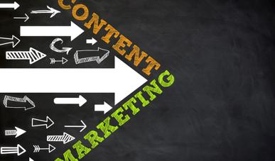 content marketing spearheading forward movement