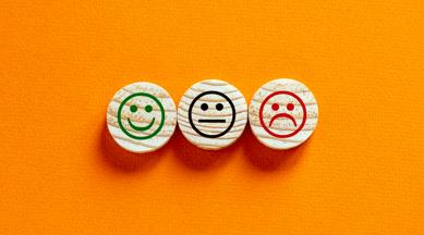customer satisfaction smiley faces