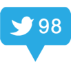 Twitter counter icon