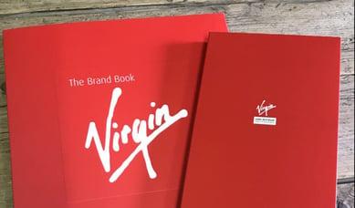 Virgin brand book case study